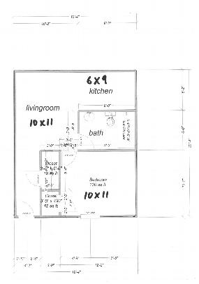 floorplan 1 bedroom 2512 Elmwood parkway Arnold Mo 63010